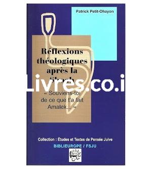 Réflexions théologiques après la Shoah
