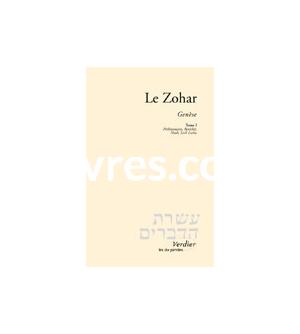 LE ZOHAR - GENÈSE T1