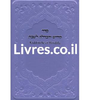 Kiddouche et Havdala de Chabbat