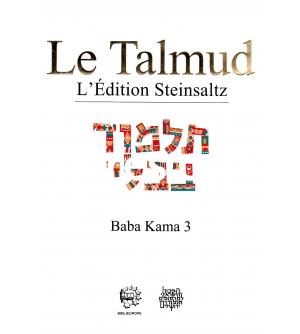 Talmud Steinsaltz - Baba Kama 3